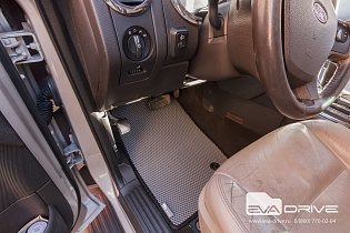 Коврики Eva-Drive для автомобилей Ford Explorer IV поколение, 2005-2011